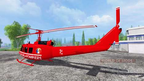 Bell UH-1D [sapeurs pompiers] para Farming Simulator 2015