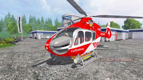Eurocopter EC145 para Farming Simulator 2015
