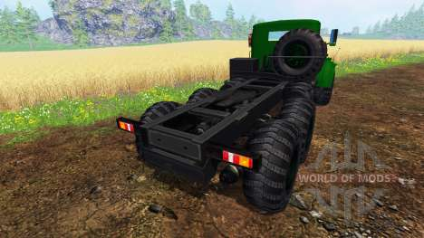 KrAZ-255 B1 v1.2.1 para Farming Simulator 2015