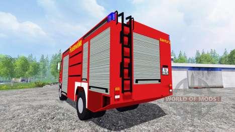 Mercedes-Benz Actros 4141 [feuerwehr] para Farming Simulator 2015