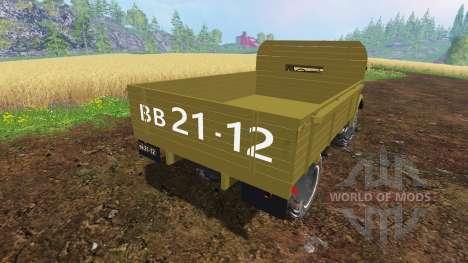 El GAZ-63 para Farming Simulator 2015