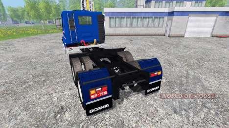 Scania 113H para Farming Simulator 2015
