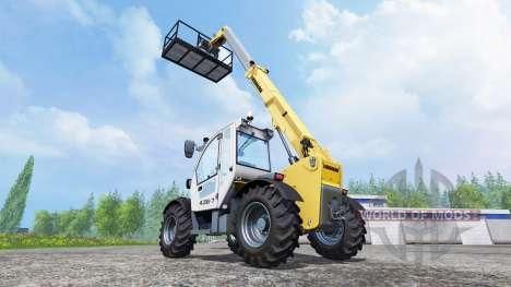 Plataforma de trabajo para Farming Simulator 2015