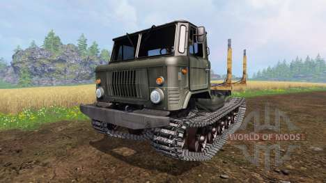 GAZ-66 [crawler] para Farming Simulator 2015
