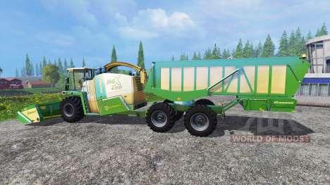 Krone Big X 650 Cargo para Farming Simulator 2015