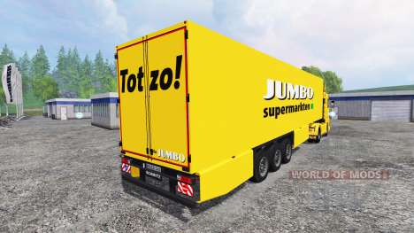 Scania 143M Jumbo para Farming Simulator 2015