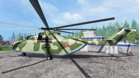 El Mi-26 para Farming Simulator 2015