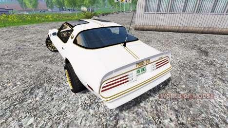 Pontiac Firebird Trans Am 1977 para Farming Simulator 2015