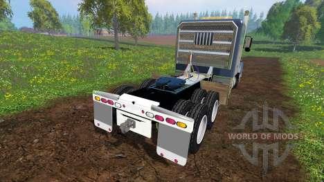 Kenworth T800 para Farming Simulator 2015