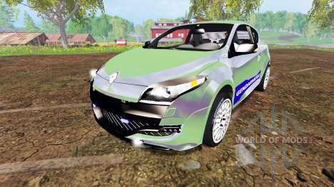Renault Megane RS Gendarmerie para Farming Simulator 2015