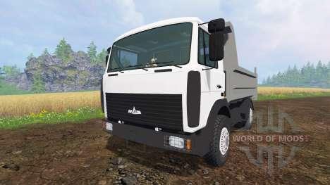 MAZ-5551 v3.0 para Farming Simulator 2015
