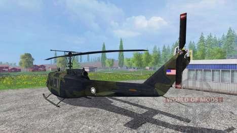 Bell UH-1D [U.S. Army] para Farming Simulator 2015