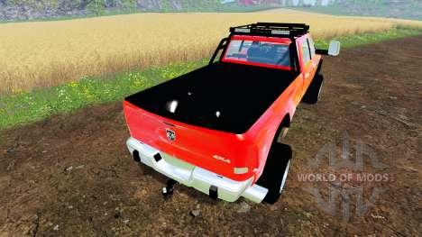 Dodge Ram 5500 Crew Cab para Farming Simulator 2015