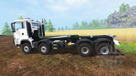 MAN TGS 8x8 para Farming Simulator 2015