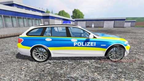 BMW 520d Dusseldorf Police para Farming Simulator 2015