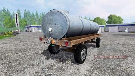 Remolque tanque para Farming Simulator 2015