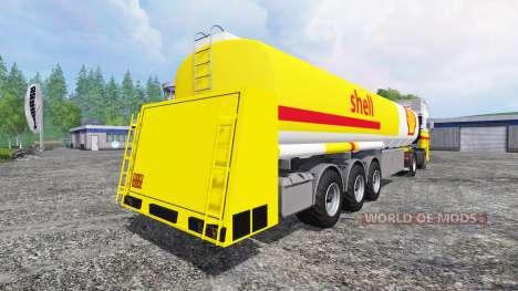 DAF XF Shell para Farming Simulator 2015