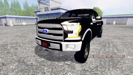 Ford F-150 2016 para Farming Simulator 2015