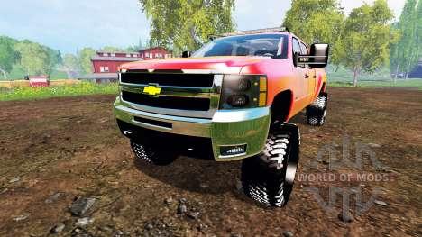 Chevrolet Silverado 2500 HD 2010 para Farming Simulator 2015
