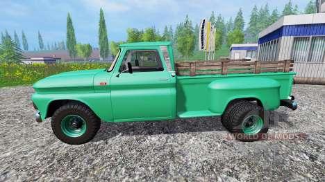 Chevrolet C10 1966 4x4 para Farming Simulator 2015