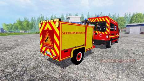Remorque Secours Routier para Farming Simulator 2015