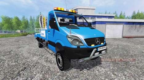 Mercedes-Benz Sprinter [nacelle sarens] para Farming Simulator 2015
