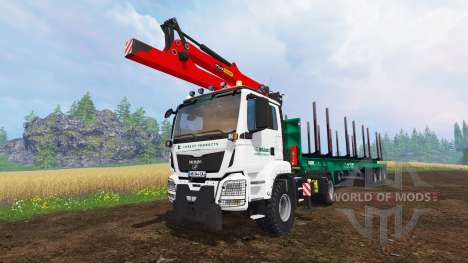 MAN TGS 41.480 [forest] para Farming Simulator 2015