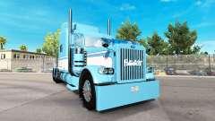 La piel de la Luz Azul-Blanco para el camión Peterbilt 389 para American Truck Simulator