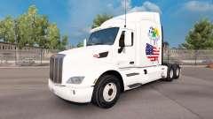 Escocia Americana de la piel para el camión Peterbilt para American Truck Simulator