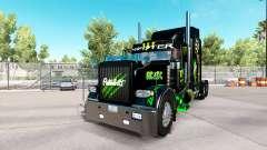 Monster Energy de la piel para el camión Peterbilt 389 para American Truck Simulator