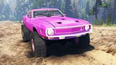Ford GT500 1969 para Spin Tires