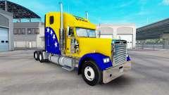 La piel Bosnia en el camión Freightliner Classic XL para American Truck Simulator