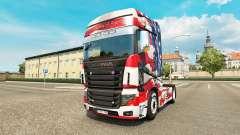La piel de estados UNIDOS en el tractor Scania R700 para Euro Truck Simulator 2