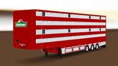Semi-remolque del camión de animales para Euro Truck Simulator 2