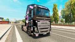 Monster High de la piel para camiones Volvo para Euro Truck Simulator 2