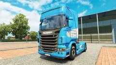 Aerolíneas Argentinas piel para Scania camión para Euro Truck Simulator 2