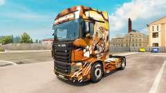 Piel de tigre para el camión Scania R700 para Euro Truck Simulator 2