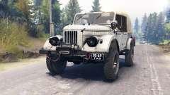GAZ-69 para Spin Tires