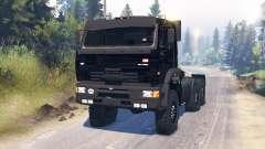 KamAZ-65221 para Spin Tires