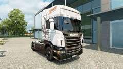 La magia de la piel para Scania camión para Euro Truck Simulator 2