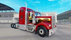 La piel de California Dreamin en el camión Kenworth W900 para American Truck Simulator