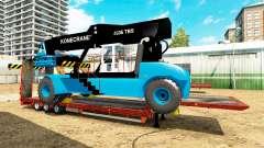 Baja de barrido con una carretilla elevadora de Konecranes para Euro Truck Simulator 2