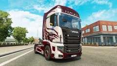 La fantasía de la piel para Scania camión R700 para Euro Truck Simulator 2