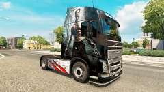 La piel de Lobezno para camiones Volvo para Euro Truck Simulator 2