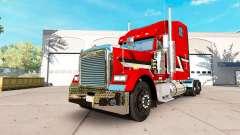La piel Metálica del camión Freightliner Classic XL para American Truck Simulator