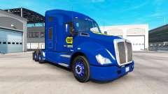 La piel de Best Buy en el tractor Kenworth para American Truck Simulator