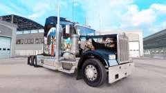 La piel de la India en el camión Kenworth W900 para American Truck Simulator