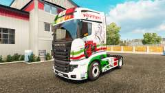 Ferrari piel para Scania camión R700 para Euro Truck Simulator 2