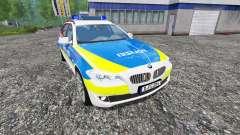 BMW 520d Dusseldorf Police