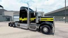 La piel de la Noche en el camión Kenworth W900 para American Truck Simulator